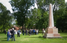 The Obelisk unveiled