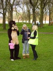 MMU student events team who helped in 2009