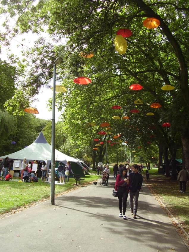 Whitworth Weekending - adding life to the Park