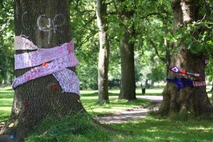 Yarn Bombing 2012