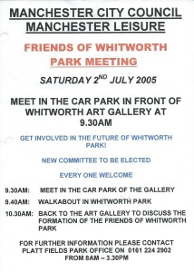 Public Meeting July 2005