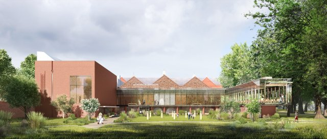 Art Garden from Park- artists impression (courtesy The Whitworth)