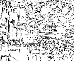 The site of Whitworth Park in 1848.