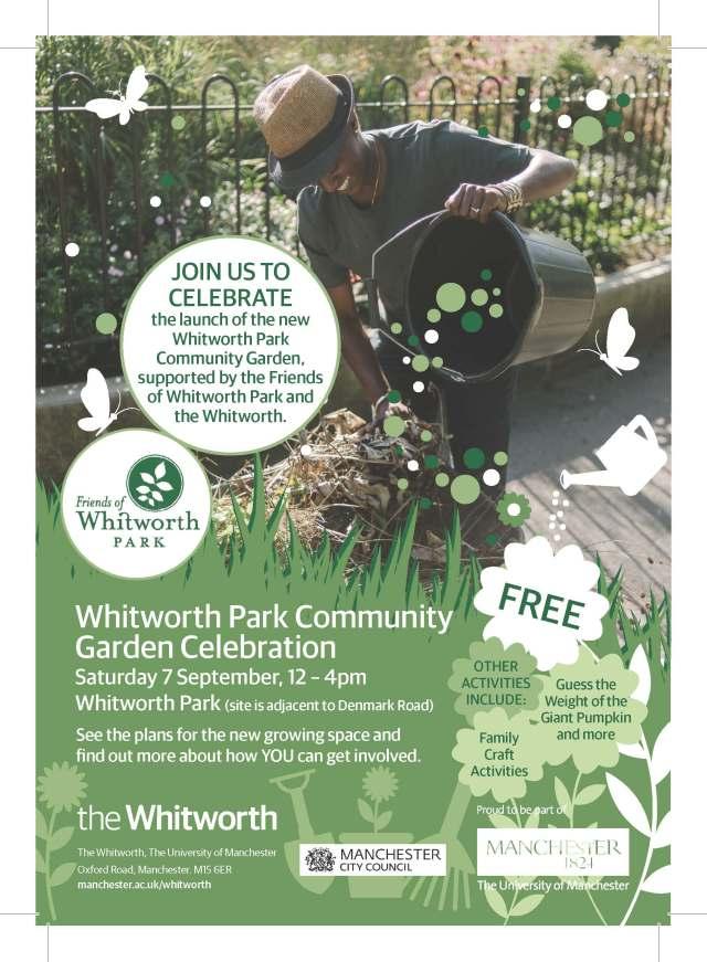 Community Garden flyer